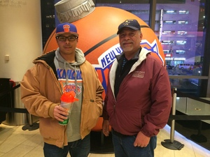 Marco attended New York Knicks vs. Orlando Magic - NBA on Dec 3rd 2017 via VetTix