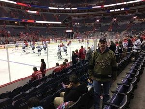 Jerry attended Washington Capitals vs. Los Angeles Kings on Nov 30th 2017 via VetTix
