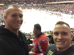 Marc attended Washington Capitals vs. Los Angeles Kings on Nov 30th 2017 via VetTix
