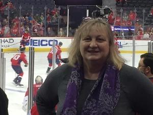 Nancy attended Washington Capitals vs. Los Angeles Kings on Nov 30th 2017 via VetTix