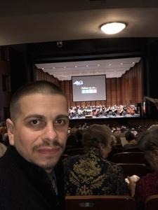 Andres attended Beyond the Score - Prokofiev Symphony No. 5 - Presented by the Austin Symphony on Dec 2nd 2017 via VetTix