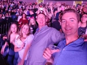 Brian attended Katy Perry: Witness the Tour on Nov 29th 2017 via VetTix