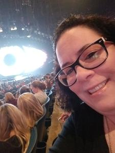 Charity attended Katy Perry: Witness the Tour on Nov 29th 2017 via VetTix