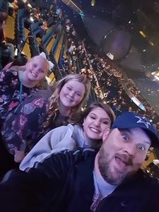 Charles attended Katy Perry: Witness the Tour on Nov 29th 2017 via VetTix