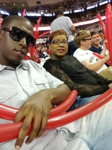 Leslie attended New Orleans Pelicans vs. Minnesota Timberwolves - NBA on Nov 29th 2017 via VetTix