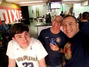 Robert attended New Orleans Pelicans vs. Minnesota Timberwolves - NBA on Nov 29th 2017 via VetTix