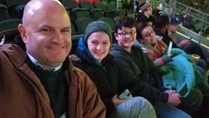 Joseph attended Kansas City Mavericks vs. Kalamazoo Wings - ECHL on Dec 1st 2017 via VetTix