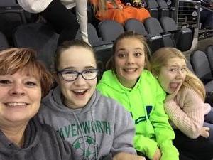 Sherry attended Kansas City Mavericks vs. Kalamazoo Wings - ECHL on Dec 1st 2017 via VetTix