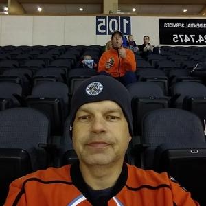 Joseph attended Kansas City Mavericks vs. Colorado Eagles - ECHL on Dec 16th 2017 via VetTix