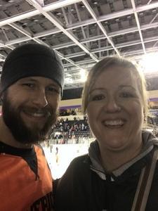 Christopher attended Kansas City Mavericks vs. Colorado Eagles - ECHL on Dec 16th 2017 via VetTix