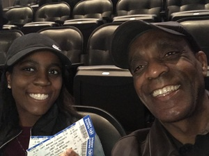 LaMonte attended Janet Jackson: State of the World Tour - Reserved Seating on Nov 29th 2017 via VetTix