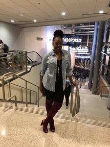 Nasstashia attended Janet Jackson: State of the World Tour - Reserved Seating on Nov 29th 2017 via VetTix