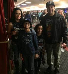 MARIA attended Guns N' Roses: Not in This Lifetime Tour on Nov 29th 2017 via VetTix