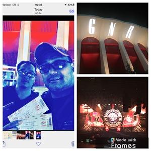 Cy attended Guns N' Roses: Not in This Lifetime Tour on Nov 29th 2017 via VetTix