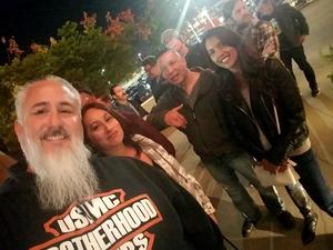 Miguel attended Guns N' Roses: Not in This Lifetime Tour on Nov 29th 2017 via VetTix