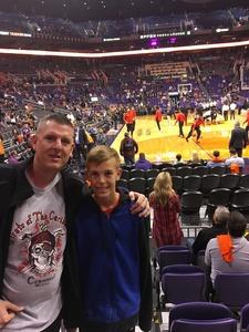 Scott attended Phoenix Suns vs. Toronto Raptors - NBA on Dec 13th 2017 via VetTix