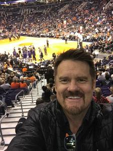 Michael attended Phoenix Suns vs. Toronto Raptors - NBA on Dec 13th 2017 via VetTix