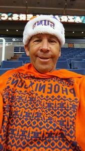 Paul attended Phoenix Suns vs. Toronto Raptors - NBA on Dec 13th 2017 via VetTix
