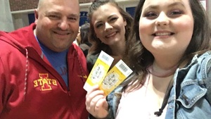 Bruce attended Katy Perry: Witness the Tour on Dec 2nd 2017 via VetTix