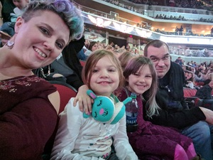 Clint attended Katy Perry: Witness the Tour on Dec 2nd 2017 via VetTix