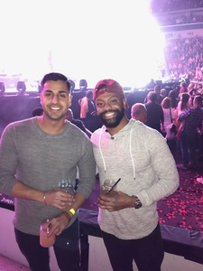 Nitin attended Katy Perry: Witness the Tour on Dec 2nd 2017 via VetTix