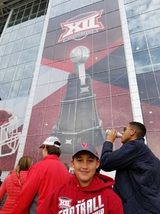 Bubba attended Big 12 Championship Game - TCU vs. Oklahoma on Dec 2nd 2017 via VetTix