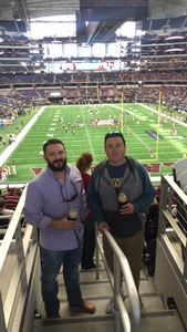 Larry attended Big 12 Championship Game - TCU vs. Oklahoma on Dec 2nd 2017 via VetTix