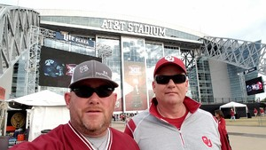 John attended Big 12 Championship Game - TCU vs. Oklahoma on Dec 2nd 2017 via VetTix