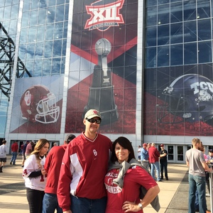 Mark attended Big 12 Championship Game - TCU vs. Oklahoma on Dec 2nd 2017 via VetTix