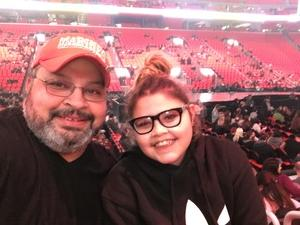 Manuel attended Katy Perry: Witness the Tour on Dec 6th 2017 via VetTix