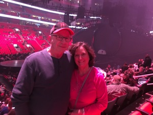 Stanley attended Katy Perry: Witness the Tour on Dec 6th 2017 via VetTix