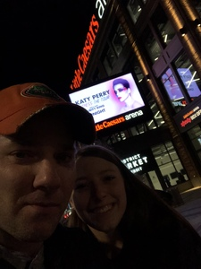 Gatorjeff attended Katy Perry: Witness the Tour on Dec 6th 2017 via VetTix