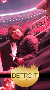 Julia Marie attended Katy Perry: Witness the Tour on Dec 6th 2017 via VetTix