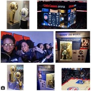 Kalefonda attended Detroit Pistons vs. Indiana Pacers - NBA on Dec 26th 2017 via VetTix