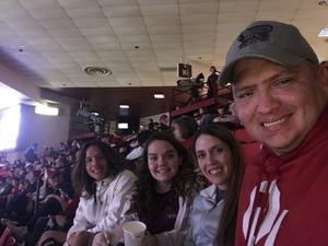 Michael attended Oklahoma Sooners vs. Northwestern - NCAA Men's Basketball on Dec 22nd 2017 via VetTix