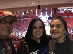 Kris attended Oklahoma Sooners vs. Northwestern - NCAA Men's Basketball on Dec 22nd 2017 via VetTix