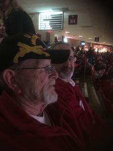 Richard attended Oklahoma Sooners vs. Northwestern - NCAA Men's Basketball on Dec 22nd 2017 via VetTix