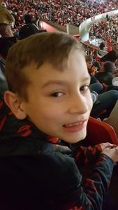 Travis attended Oklahoma Sooners vs. Northwestern - NCAA Men's Basketball on Dec 22nd 2017 via VetTix