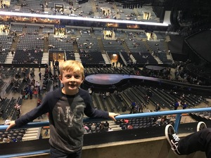Robert attended Katy Perry: Witness the Tour on Dec 4th 2017 via VetTix