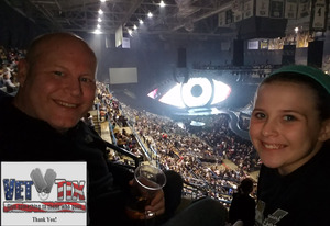 Jamie attended Katy Perry: Witness the Tour on Dec 4th 2017 via VetTix