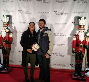 Melissa attended The Nutcracker Performed by California Ballet Company on Dec 15th 2017 via VetTix