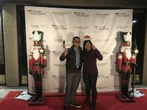 Rommel attended The Nutcracker Performed by California Ballet Company on Dec 15th 2017 via VetTix