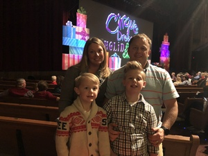 Eric attended Cirque Dreams Holidaze on Dec 5th 2017 via VetTix