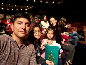 Valencia attended Cirque Dreams Holidaze on Dec 5th 2017 via VetTix