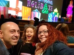 Brianne attended Cirque Dreams Holidaze on Dec 5th 2017 via VetTix