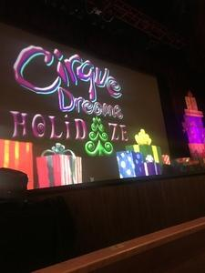 Deborah attended Cirque Dreams Holidaze on Dec 5th 2017 via VetTix