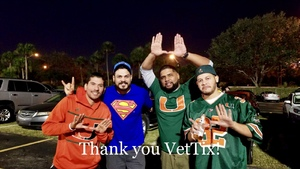Freidy attended 2017 Capital One Orange Bowl - Wisconsin Badgers vs. Miami Hurricanes - NCAA Football on Dec 30th 2017 via VetTix