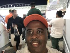 Bernard attended 2017 Capital One Orange Bowl - Wisconsin Badgers vs. Miami Hurricanes - NCAA Football on Dec 30th 2017 via VetTix