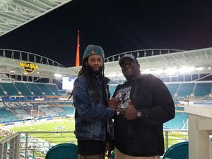 Clyde attended 2017 Capital One Orange Bowl - Wisconsin Badgers vs. Miami Hurricanes - NCAA Football on Dec 30th 2017 via VetTix