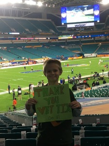 David attended 2017 Capital One Orange Bowl - Wisconsin Badgers vs. Miami Hurricanes - NCAA Football on Dec 30th 2017 via VetTix